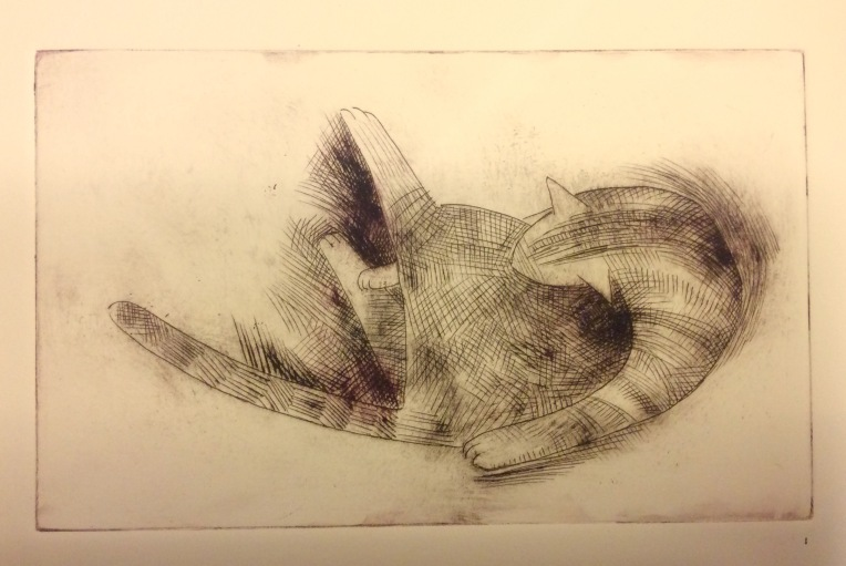 The Bath, Drypoint