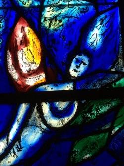 Chagall window, Tudeley, England