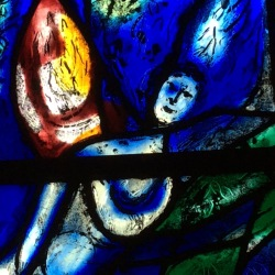 Chagall window, Tudeley, England